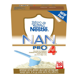 Nestlé Nan Pro 4 Follow up Infant Formula after (18-24)Months 400 Gms