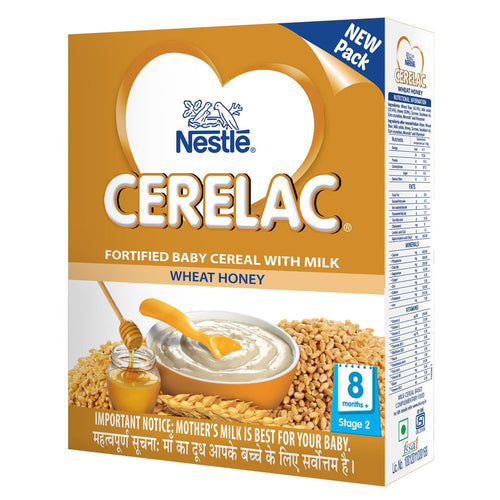 300Gms Nestle Cerelac With Milk Wheat And Honey Stage 2 For Babies