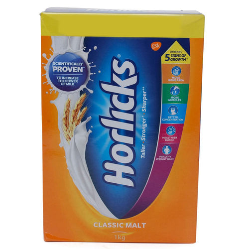 Horlicks Health & Nutrition Healthy drink 1Kg For Child (Age 6 -12 years)