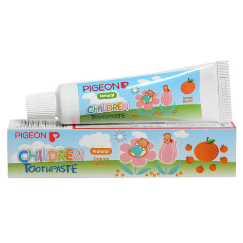 Pigeon Orange Flavoured Children Toothpaste 45 Gms For Baby Health Care