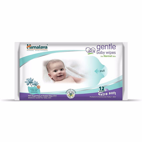 Himalaya Herbal Soothing Baby Wipes-12Pieces , 24Pieces ,72Pieces