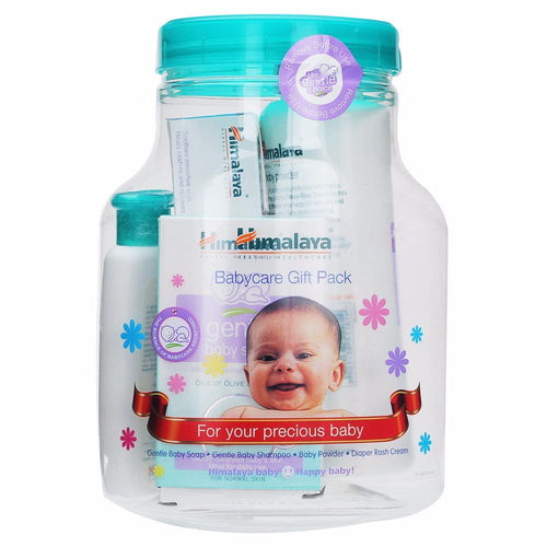 Himalaya Herbal Baby Care Gift Jar - 4 Pieces Pack For Baby Care