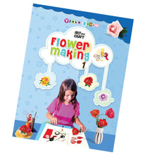 Art And Craft Flower Making 1- English 24 pages ( Interesting and Creative )