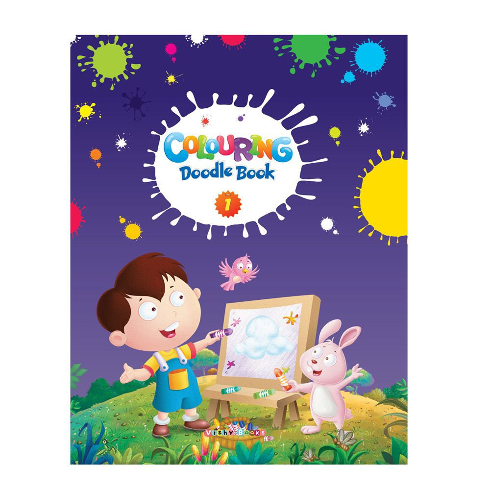 ABC Coloring Doodle Book 1 – English 32 Pages