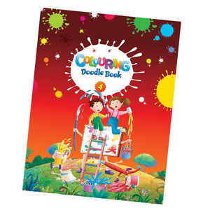 ABC Coloring Doodle Book 4 - English 4 to 6 Year Creative With Colors