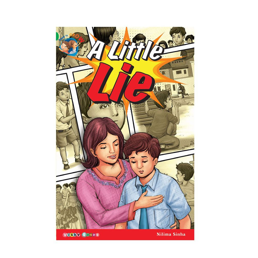 A Little Lie Story Book - English Pages - 32 Action And Fun