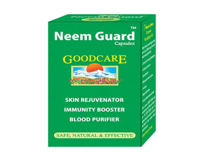 Goodcare Neem Guard (60 Capsules)-Pure Natural -Herbals Care