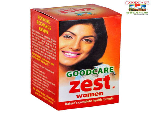 Goodcare Zest For Women Complete Health Formula - 60 Capsule Available