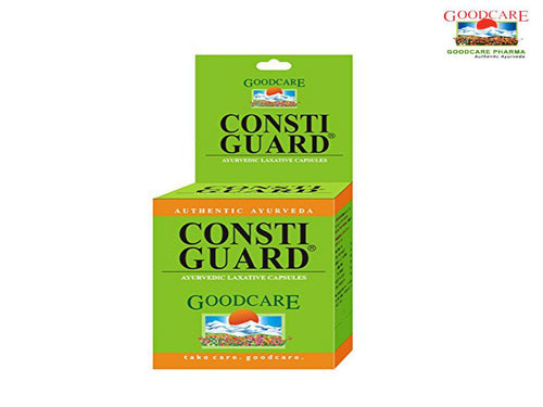 Goodcare Pharma Consti Guard -Ayurvedic Herbals - 100 Capsules Available
