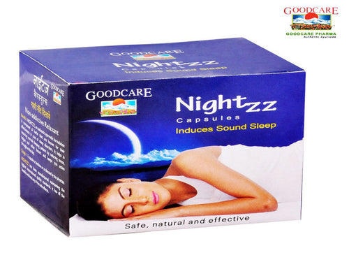 GOODCARE Ayurvedic NIGHTZZ CAPSULES - 50 Capsules Available
