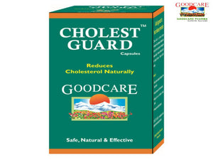 Goodcare Cholest Guard - 100% Ayurvedic Herbals -60 Capsules Available