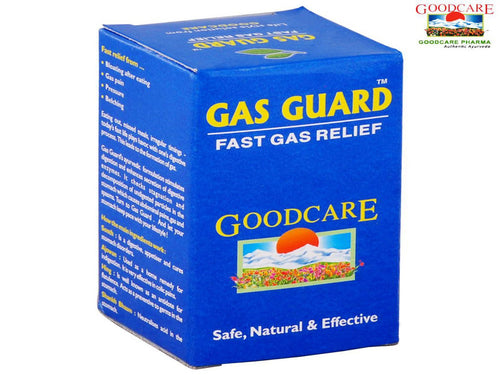 Goodcare Pharma Gas Guard-Natural Herbals For Health Care -50 Tablets Available