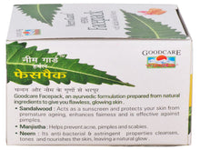 Goodcare Neem Guard Herbal Face Pack For Skin Care -50 Gms
