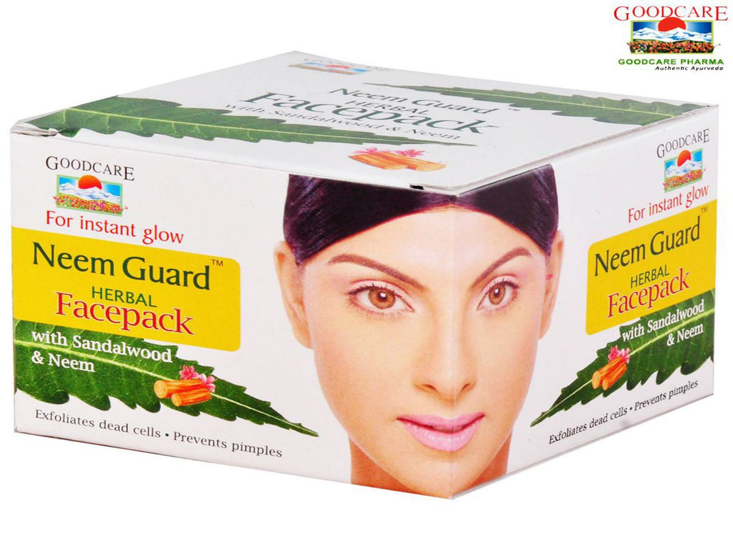 Goodcare Neem Guard Herbal Face Pack For Skin Care -50 Gms Available