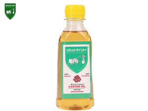 GRAMIYUM 100% Pure Castor Oil (Cold Pressed)- 1000ml Available