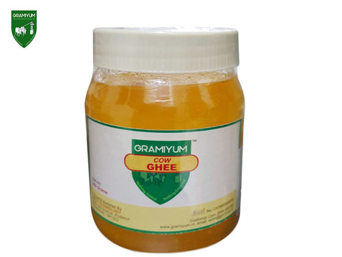 GRAMIYUM 100% Pure Natural Cow Ghee- 250Gm Available