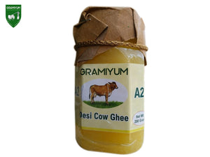 GRAMIYUM 100% Pure Desi Cow Ghee (A2)- 200Gm Available