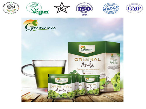 New 100% Grenera Organics Amla Original Tea – 20 Tea Bags – HealthCare