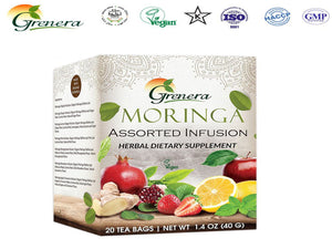 New 100% Moringa Assorted Infusion Tea Bag Health Care