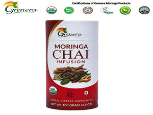 New 100% Grenera Organics Chai Tea -Pure Natural Herbals