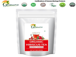 100% New Grenera Pure & Natural Hibiscus Tea -Natural Herbals - 500gm