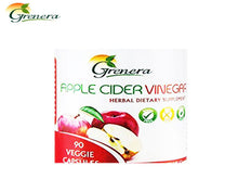100% Natural Apple Cider Vinegar Capsules- 90 Vegetarian Capsules-Health Care