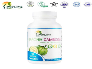 100% Natural Grenera Garcinia Cambogia- Herbals For Health Care- 90 capsule