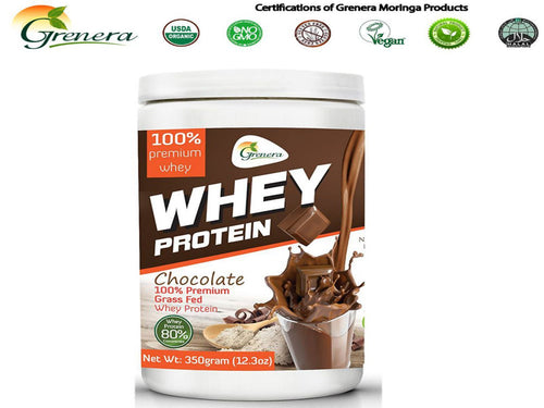 New Grenera Whey Protein Powder Chocolate / Concentrate
