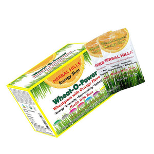 Herbal Hills Wheat-O-Power with Orange Flavour 2gm x 30 Sachet For boost immunit