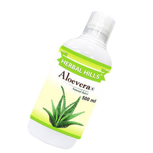 Herbal Hills Aloevera Health Juice 500ml Useful In The Production Of Muscles
