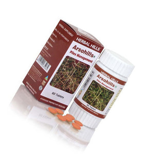Herbal Hills Arsohills Ayurvedic Tablets for Piles Treatment 60 Tablets