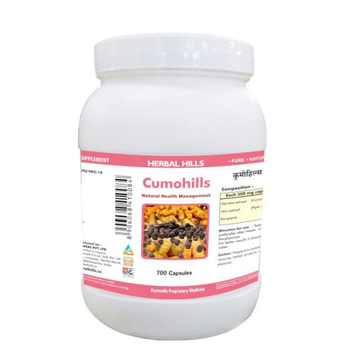 Herbal Hills Cumohills 700 Capsules Useful For  Maintain Health Of Hair