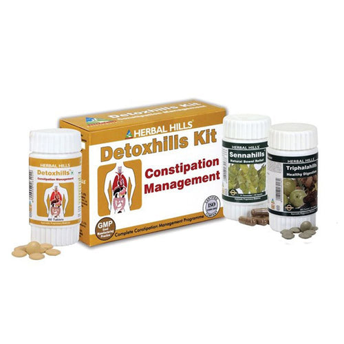 Herbal Hills Detoxhills Ayurvedic Detoxification Kit For Reduce Acidity & Gas
