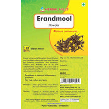 Herbal Hills Erandmool Powder 100Gm For Help Reduce Joint Pain