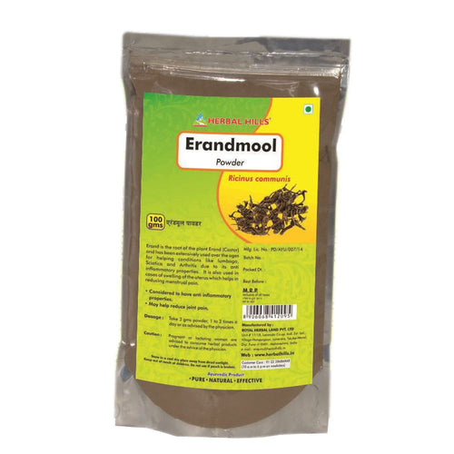 Herbal Hills Erandmool Powder 1Kg For Help Reduce Joint Pain