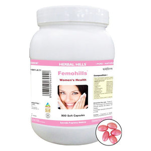 Herbal Hills Femohills 900 Capsules For Women's Health painful condition