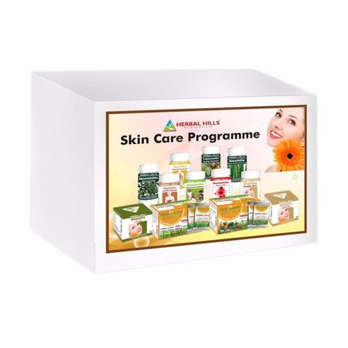 Ayurvedic Herbal Hills Skin Care Programme For skin Nutrition & Energy