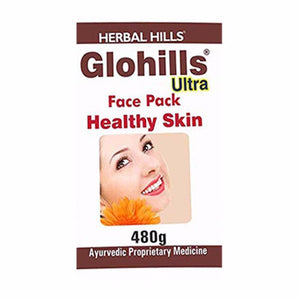Herbal Hills Glohills Ultra Face Pack -480 Gm For Maintain Skin Health