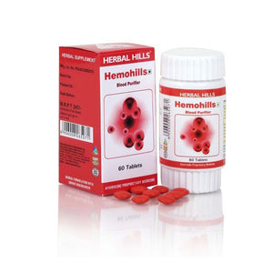 Herbal Hills Hemohills Ayurvedic Blood Purifier Tablets (60 Tablets)