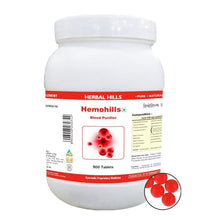 Herbal Hills Hemohills Ayurvedic Blood Purifier Tablets (900 Tablets)