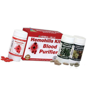 Herbal Hills Hemohills Blood Purifier Ayurvedic Kit
