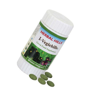 Herbal Hills I-Vegiehills Organic Food Supplement for Immunity 60 tablets