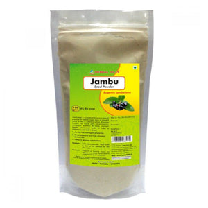 JAMBU SEED Powder Herbal Hills Fresh Stock Direct For Maintain Sugar Level-100gm