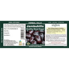 Herbal Hills Jambuhills Ayurvedic Capsules for Healthy Blood Sugar 60 Capsules
