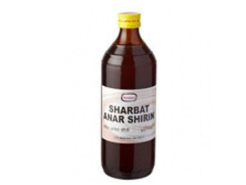 Hamdard Sharbat Anar Shirin - Strengthens The Heart-500 Ml Available