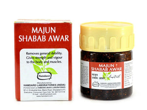 100% Original Hamdard Majun Shabab Awar – Strength Health-60 Gms Available