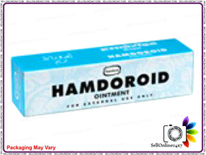 100% Original Quality Hamdard Herbal Hamdoroid Ointment -50 Gms