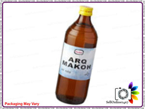 100% Original Hamdard Pure Herbal & Natural Arq Makoh  -500 Ml