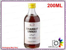 100% Herbal Hamdard Sharbat Unnab For Impurities Of Blood-200 Ml Available