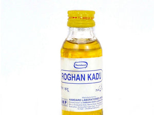 Hamdard Herbal Natural Roghan Kadu-Strengthens Brain And Nerves System-50 Ml